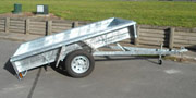 Superior Trailers - custom-built fully road compliant galvanised trailers